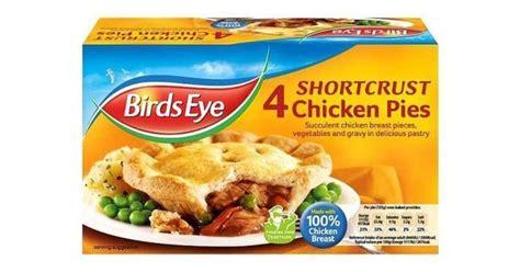 aldi birds eye morrisons  sainsburys products