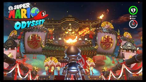 super mario odyssey kingdom 0744019311 super mario odyssey bowser s kingdom bowser s castle tour youtube