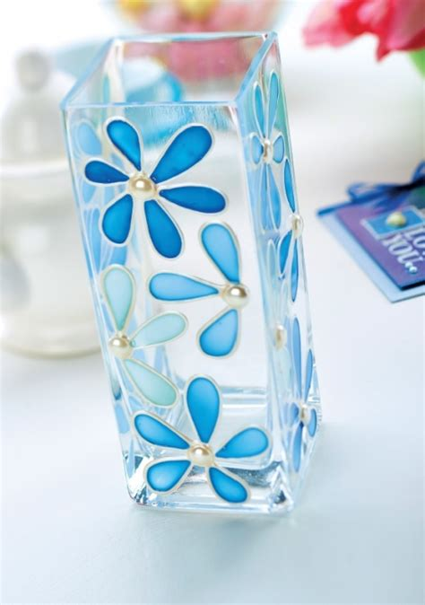 Glass Vase Painting Ideas by Diy Glass Painting Patterns Ideas