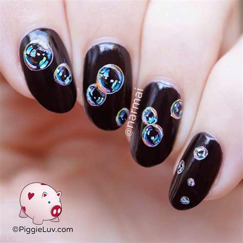 Nail Nail by Piggieluv Rainbow Bubbles Nail