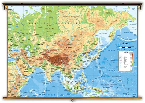 east asia physical map physical map of asia coloring pages