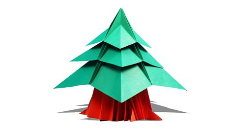 3d Origami Tree - 3d origami tree how to make origami