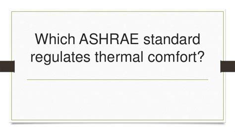 Leed Thermal Comfort by Leed V4 Ga Flashcards