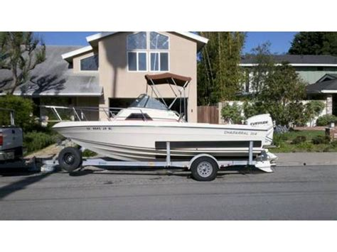 proline boats for sale in california 1987 chaparral 204 walkaround cuddy cabin powerboat for