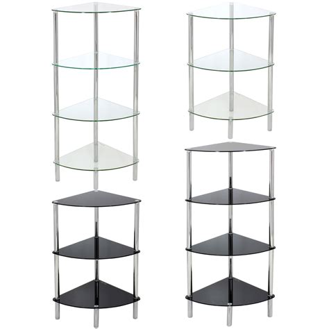 bathroom corner shelf unit glass corner shelf unit display bathroom hall end lamp