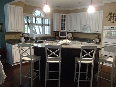 refaced kitchen cabinets in lake st louis mo cabinet st louis cabinet refinishing mf cabinets