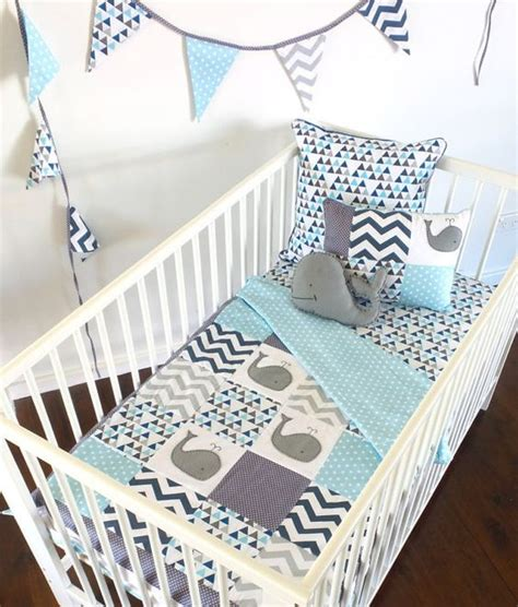 whale baby bedding moby the whale baby crib quilt 4pc set quilt 2 by