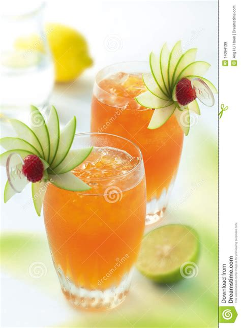 drink garnishes exotic cocktail stock image image of citrus refreshment