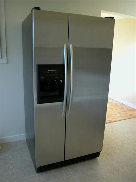 Water Dispenser Vancouver kitchenaid side by side stainless refrigerator with