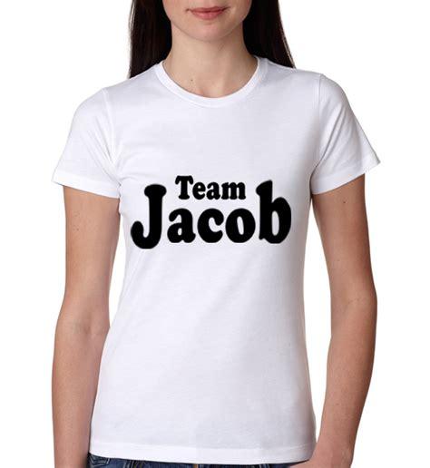 Tshirt Jaco Black White 2 187 team jacob black lautner twilight womens t shirt