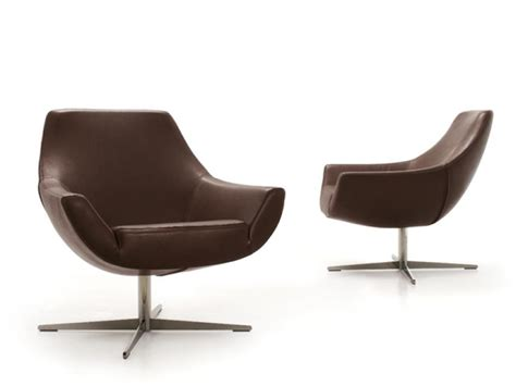 swivel upholstered armchair pod by d 233 sir 233 e