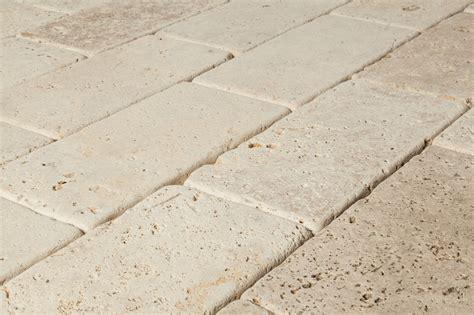 cabot travertine pavers tuscany beige 6 quot x12 quot x3cm tumbled