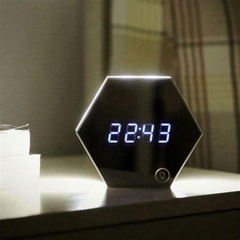 Jam Led Digital Zxsj 05l Clock 24 5 X 10 X 4 Cm 1 mirror alarm clock usb charging led table l brightness thermometer function digital clocks