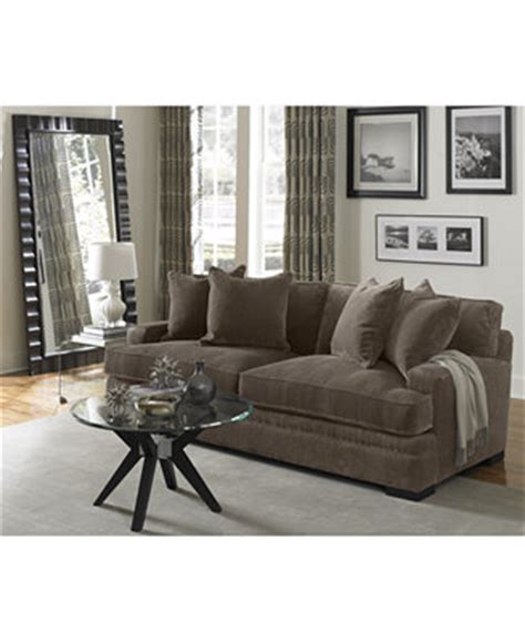 teddy fabric sectional living room from macys misc home teddy fabric sofa collection created for macy s