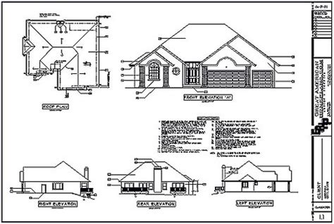 Home Ideas Floor Plans And Elevations Of Houses