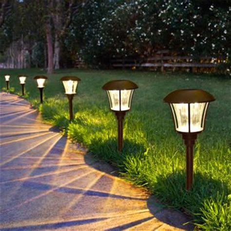 westinghouse mini solar holiday christmas garden outdoor pathway light smartyard solar led pathway lights 8 pack landscape lighting