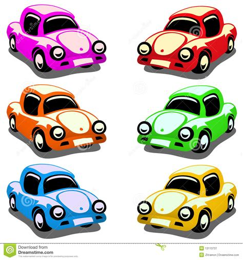 car toy clipart toy cars stock vector illustration of collection