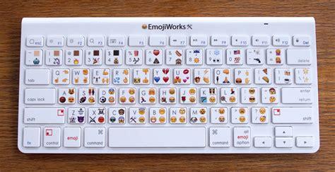 emoji keyboard pc here s a physical emoji keyboard that costs 100