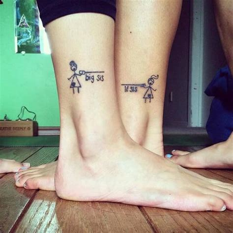 little sister tattoo 69 tattoos to show that special bond between two