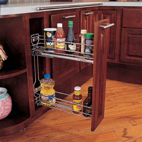 Rv Cabinet Organizers by Side Mount Kitchen Base Cabinet Pull Out Organizers By Rev