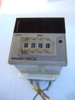 Digital Timer H5cn Ybn Omron omron h5cn xcn digital timer