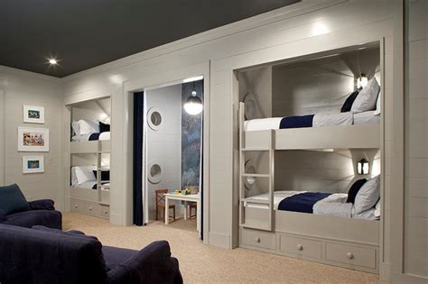 built in bunk bed built in bunk beds traditional boy s room keystone kitchen and bath