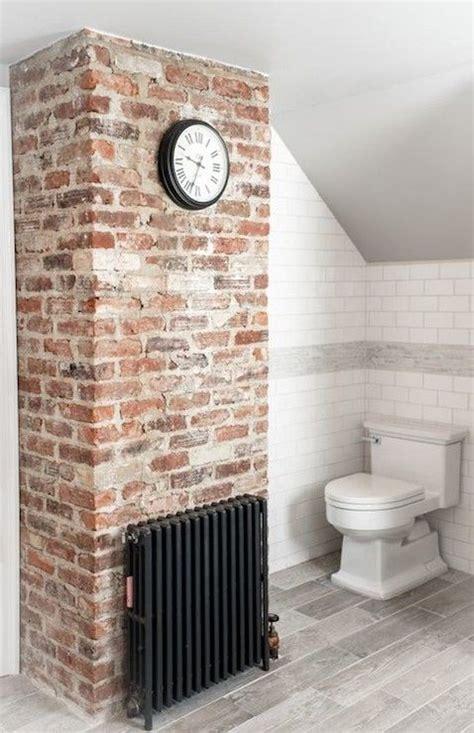 brick bathroom wall 25 best ideas about brick bathroom on pinterest fake brick brick wallpaper and