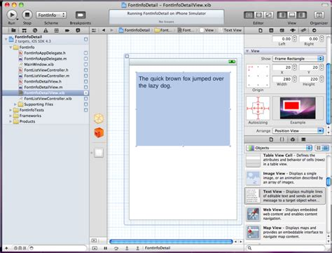 xcode kext tutorial tutorial using uitableview adding a detail view in