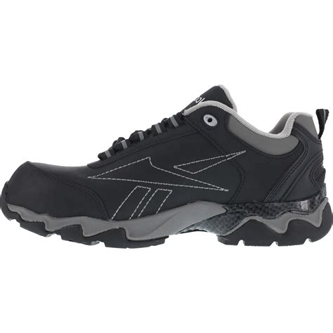 athletic safety toe shoes reebok work s beamer athletic safety toe shoes black