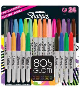 colored sharpies sharpies sharpie point permanent markers 24 pack