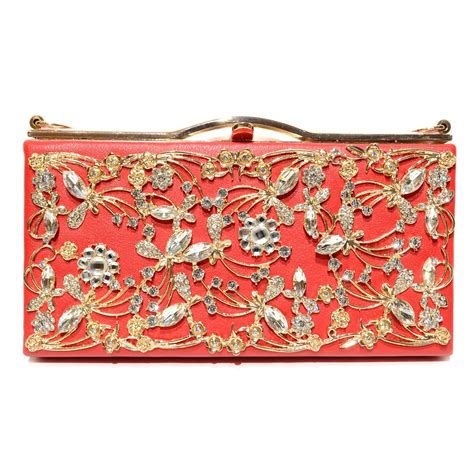 Vintage Inspired Clutches by Vintage Inspired Relief Clutch 562037 100 Eswanny