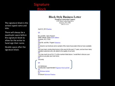Business Letter Format Typed By Someone Else Letter Writing