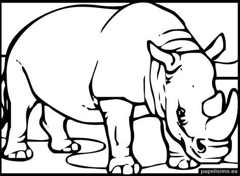 imagenes para colorear infantiles de niños 24 animales para colorear para ni 241 os papelisimo