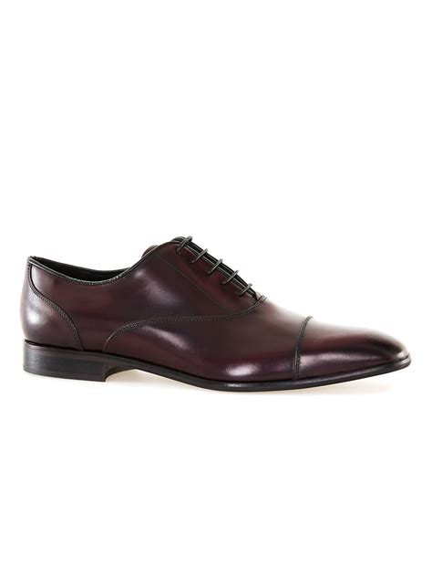 shop oxford shoes burgundy leather oxford shoes topman