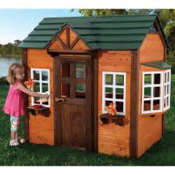 buying wooden playhouses outdoor toys for