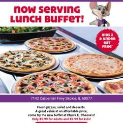 chuck e cheese buffet hours chuck e cheese s 22 photos 35 reviews pizza 7142 carpenter rd skokie il united