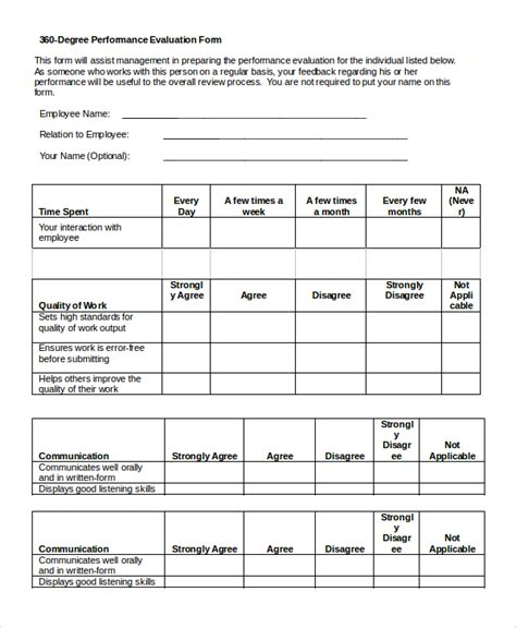peer evaluation form sle best resumes