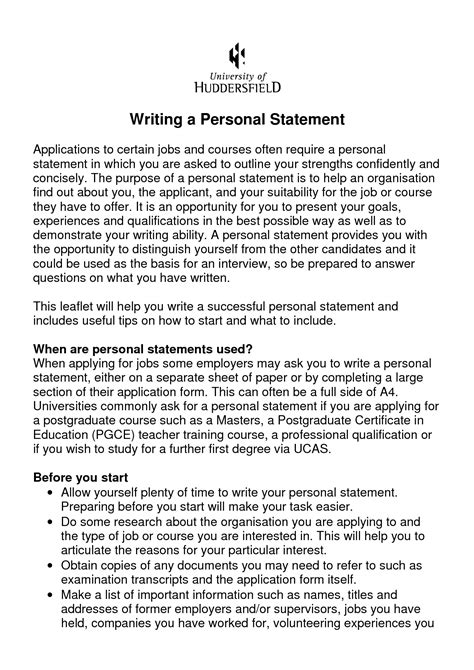 fresh bold design ideas resume personal statement examples 6 cv