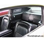 1967 Mustang Fastback Interior Rear