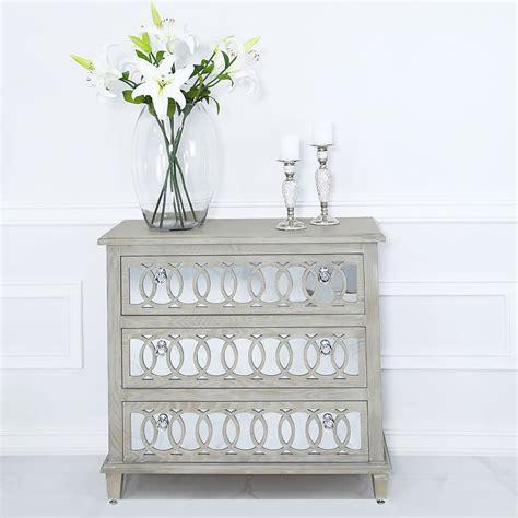 bayside mirrored hampton style  drawer chest  drawers