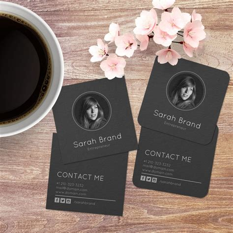 Business Cards With Your Photo