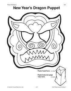 new year mask template new year on new years