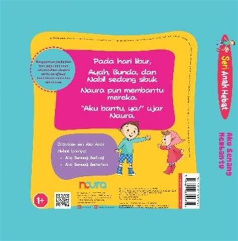 Board Book Aku Senang Berbagi bukukita seri anak hebat aku senang membantu board