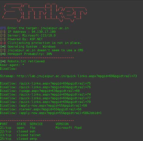 tutorial information gathering kali linux kali linux tutorial