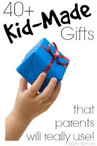 40 gifts kids can make that grown ups will really use