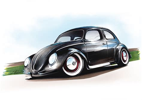 volkswagen beetle sketch volkswagen beetle by marchiori luca my sketch and draw