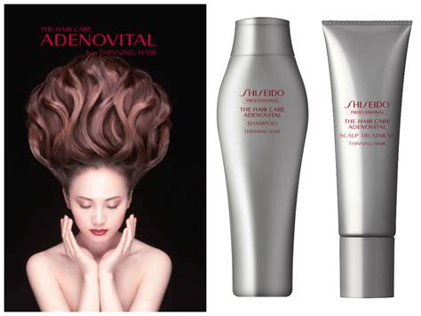 Shiseido The Hair Care Adenovital lxg luxury x lxg the hair care salon