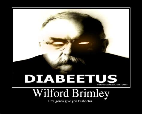 Diabetes Meme Wilford Brimley - wilford brimley picture ebaum s world