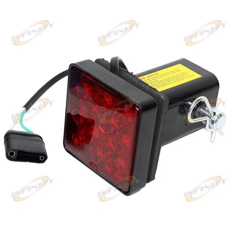 12 bright leds led brake light fit 2 quot trailer hitch