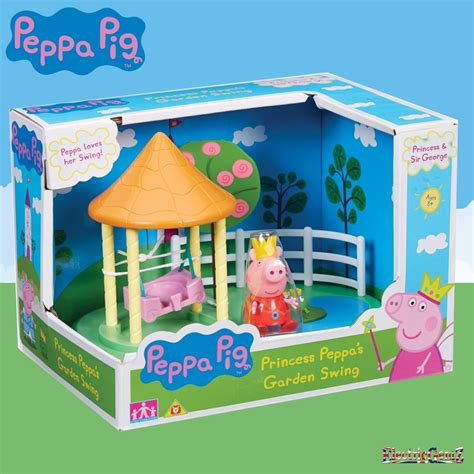 Peppa Pig Swing - peppa pig princess peppa s garden swing